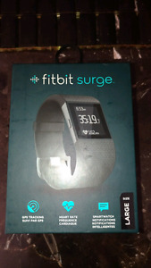 Fitbit surge smart watch with GPS