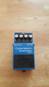 Guitar Boss Compression Sustainer CS-3 / Guitar pedal effect