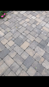 Paver stones approx 500-800 square feet