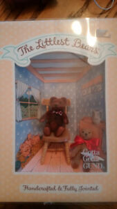Gund- The Littlest Bears # 7022 Grandfather and Grandson