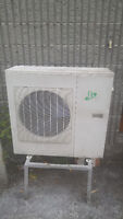 split type air conditioner hot and cold 24000 btu motor for sale