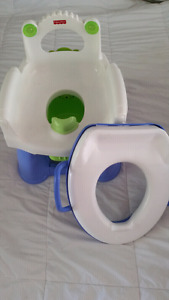 Potty and trainer seat