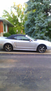 PRICE DROP 1999 Ford Mustang Convertible