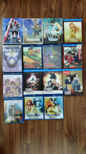 Lot of Blu-ray Anime (FMA:B/Steins;Gate/Clannad + More)