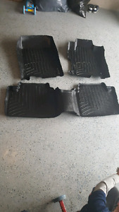 2008-2012 Honda Accord weathertech floor mats from 2011. Accord