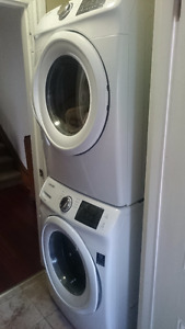 Samsung Washer and Dryer combo (with stacking kit)