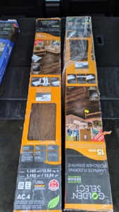 2 Boxes of Golden Select Winchester Laminate Flooring - 25 sq ft