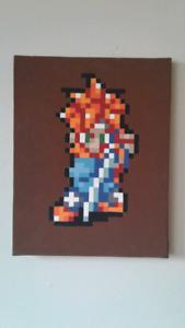 Chrono Trigger Pixel Painting