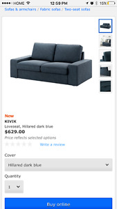 Ikea couch set, Ikea bed , leather reclining couch  set, etc