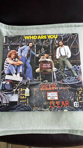 THE WHO VINYL ! BRAND NEW !