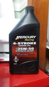 MERCURY 4 Stroke oil ONLY 14 QUARTS LEFT