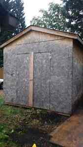 10'x 12' Shed, 8' ft walls.
