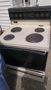 Old fridge & stove