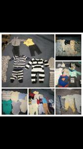 Baby boy Fall/Winter LOT 0-6 months