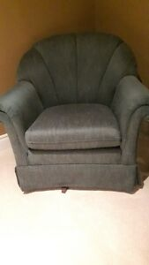 Sklar Peppler Swivel/rocker  Tub Chair
