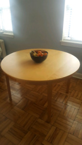Ikea Round Extendable Table