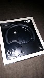 AKG by Harman C50BT wireless bluetooth headphones