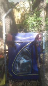*SOLD PENDING PICK UP* Double bike trailer