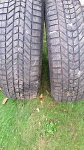 2 firestone mud and snow tires