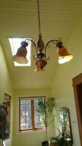 Plafonnier chandelier antique