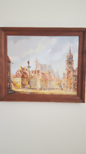 oil on canvas - Warsaw