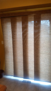 Panel Track Blinds from Blinds To GO...$90 Excellent Condition