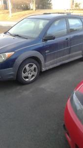 2003 Pontiac Vibe Hatchback inspected until oct 2018