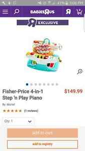 Piano exersaucer