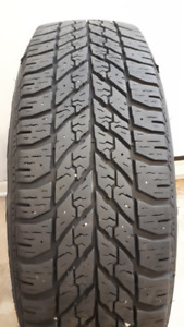 4 used Goodyear  - Winter  tires with Rims - 225/65R17 102T