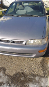 Corolla~with aircondation $1000
