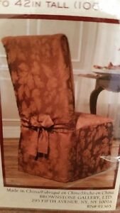 2 Chair Covers AND 6 matching Seat Covers.