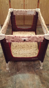 Playpen,Unisex,Folds,Carrying Bag, Compact- Mesh Sides $45