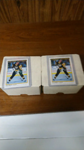 Hockey cards two Opee-chee premier sets