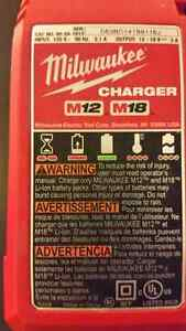 Milwaukee 18V Charger for Lithium Ion Batteries  Charger M12 and