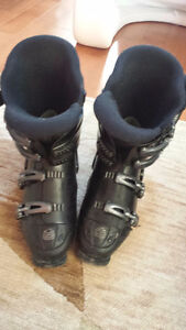 Alpina Downhill Ski Boots Excellent Condition Size 10 mens 344mm