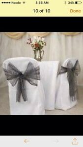 Nice Chair cover-Tablecloth-Backrop &Decor Rental  London Ontario image 5