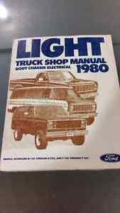 Ford shop manual Regina Regina Area image 1