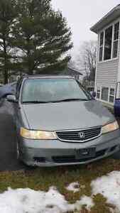 2000 Honda Odyssey ALLOY , DVD Minivan, Van