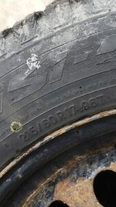 Winter tires 17'' in good condition ! (215 / 60R17 96T)