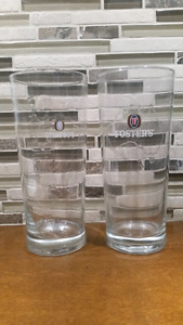 Fosters Pint Beer Glass Tumbler  Barware Etched Logo set of 20