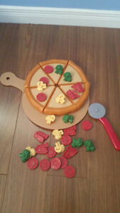 Pizza with Cutter and all topping O.B.O