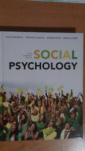 Social Psychology 5th Canadian Edition by Elliot Aronson, Timoth