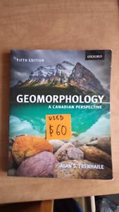 Geomorphology textbook