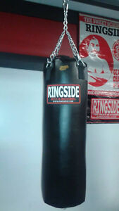 New  Professional Cow hide 100 pound RingSide bags with chain
