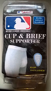 Baseball Franklin Cup & Brief Supporter Adult X-Large