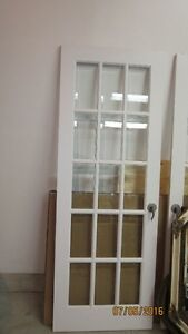 FRENCH DOORS WITH BEVELLED GLASS