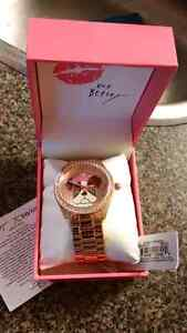 Betsey Johnson Rose Gold Watch - Brand New with Tags