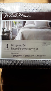 Bed spread set (double size)