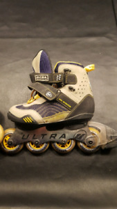Ultra Wheels rollerblades size 7 almost new