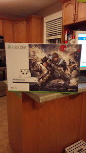 SOLD BRAND NEW! Unopened Box! XBOX One S 1TB Gear Of War Bundle!